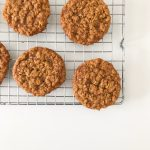 Chewy Oatmeal Molasses Cookies